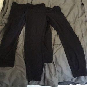 lululemon athletica Pants - 2 PACK lululemon leggings